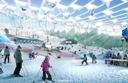 Venez skier à Paris, parce que les Alpes et les Pyrénées, c'est ringard.