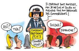Election 2017 – Artisans et commerçants, les grands absents du débat !