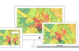 Symaps permet de géolocaliser les meilleurs emplacements afin de lancer une activité commerciale.