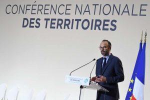 Le premier ministre, Edouard Philippe, à Cahors, le 14 décembre. PASCAL PAVANI / AFP