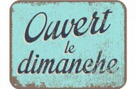 Sondage – Faut-il généraliser l'ouverture des commerces le Dimanche ?