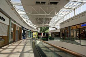 centre commercial-vide